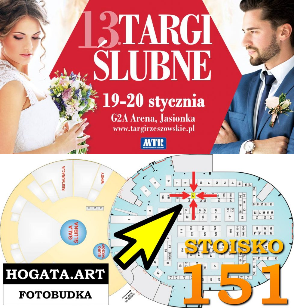 13 Targi Ślubne Wedding Day  / Hogata / Hogata.Art